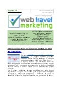 Web Travel Marketing Magazine N° 12