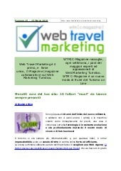 Web Travel Marketing Magazine N° 15