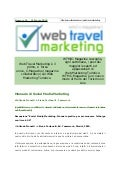 Web Travel Marketing Magazine N° 16