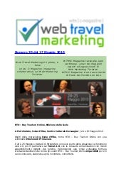 N° 20 del Web Travel Marketing Maga...