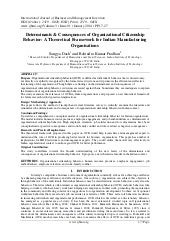 International Journal of Business a...