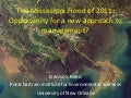 14th Riversymposium, keynote presentation from Denise J.Reed (2011)