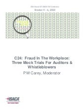 C24 Fraud In The Workplace 3 Mock T...