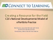 C2 l model of ePortfolio practices