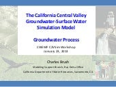 C2VSim Workshop 4 - C2VSim Groundwa...