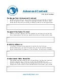 C41 advanced content = revenue (worksheet)
