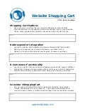 C44 website shopping cart worksheet