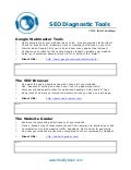 C48 seo diagnostic tools worksheet