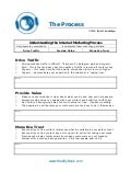 C50 the internet marketing process worksheet