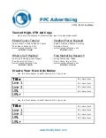 C56 ppc advertising worksheet