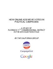 HOW ONLINE ADS MOVE VOTES IN POLITI...