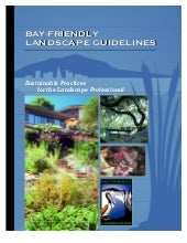 CA: Bay Friendly Landscaping Guidlines