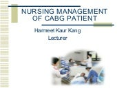 Cabg Teaching
