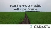Cadasta: Securing Property Rights with Open Source