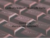 Cadbury India product life cycle