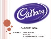 Cadburyindia ppt