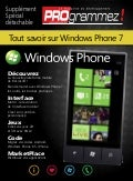Cahier Windows Phone 7 par Programmez