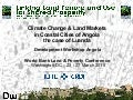 Climate Change & Land Markets in Angolan Coastal Cities: Allan Cain, 2015/03/24