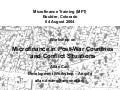Microfinance in Conflict & Post-War Countries - Allan Cain, August 4 2004