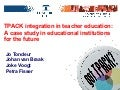 TPACK integration in teacher education:  A case study in educational institutions for the future