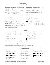 Calculus cheat sheet_integrals