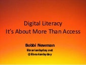 Digital Literacy: It's about more t...