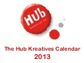 Calendar 2013 by Hub Kreatives