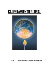 Calentamiento Global. Noemi Mendez ...