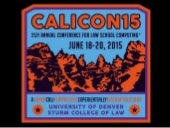 CALI Conference Opening Slides - Welcome to the 50th Annual CALICon