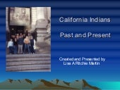 California Indians Past & Present-F...