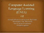 CALL (Computer Assisted Language Le...
