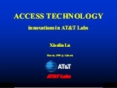 Access Technology - innovations in ...