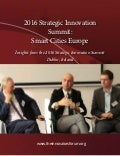 Dr Calzada contribution to 2016 Strategic Innovation Summit on Smart Cities in Europe by Harvard University