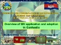 1030 Overview of SRI application and adoption in Cambodia