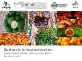 Biodiversity for food and nutrition - a case study from Brazil