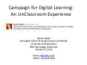 Campaign for Digital Learning