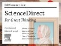 B2B Campaign Elsevier ScienceDirect