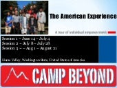 Camp beyond: The American Experienc...