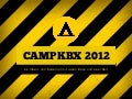CAMPKBX 2012 Call for Papers