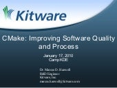 CMake: Improving Software Quality a...