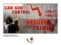 Can Gun Control Reduce Crime - Infographic PDF