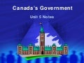 Canadas government2010 2011