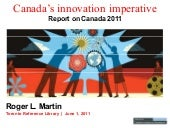 Canada's Innovation Imperative 2011