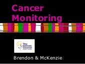 Cancer Monitoring