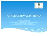 Cancer cervicouterino conferencia
