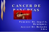 Cancer de páncreas Ángel Henriquez