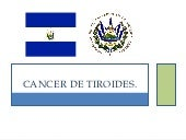 Cancer de tiroides ok