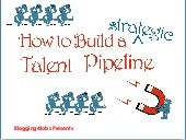 How to Build a Strategic Talent Pipeline