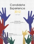 Candidate Experience Awards 2012 UK research paper