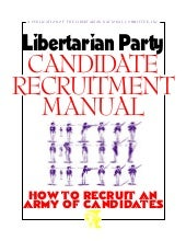 Candidate Recruitment Manual